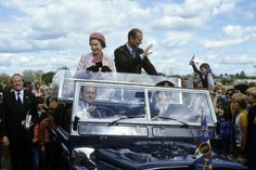 Pin for Later: A Look at Charming Prince Philip Through the Years  The royal couple waved to onlookers from their car in Wellington, New Zealand, in 1981.