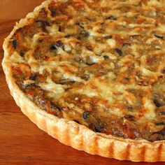 Leek and Mushroom Tart: This rich and comforting tart comes together quickly with the aid of premade puff pastry. Creamy leeks and meaty mushrooms make for a satisfying dish for vegetarians and non-vegetarians alike.