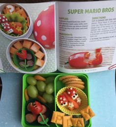 Lunch inspiration from Happy Bento! Lunches On the Go, book by Anna Adden Lunch To Go, Lunch Box, Bento Tutorial, Non Sandwich Lunches, Chocolate Coins, Healthy School Lunches, Edible Creations, Lunchbox Ideas, Bento Box