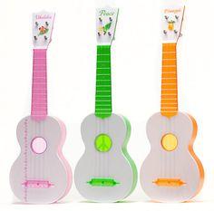 Produced by Kazuo Sekiguchi, founder of The Ukulele Foundation of Hawai'i. Very popular Japanese model all plastic ukulele reminding us of those old Macaferri type ukuleles. Patterned after a Martin style-0