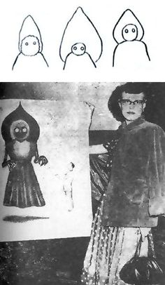 The mystery of the Flatwoods Monster-alleged unidentified extraterrestrial or cryptid reported to have been sighted in the town of Flatwoods in Braxton County, West Virginia, United States, on September 12, 1952.