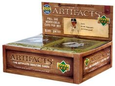2007 Upper Deck Artifacts Baseball Cards by Upper Deck. $47.99. Product Highlights: 10 Packs with 4 cards per pack. Collect three numbered Memorabilia Cards per box, on average! Pull 1 of 1 autographed MLB Rare Apparel Cards! Discover Autofacts Signature Cards falling one per box on average! Look for rare artifacts Ba