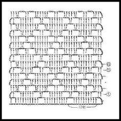TEJIDOS A CROCHET - GANCHILLO - PATRONES: GRAFICOS=CROCHET=GANCHILLO= PUNTO FANTASIA