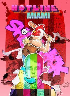 Hotline Miami by HARARTIGAN on DeviantArt