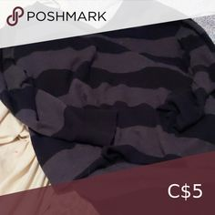Black and grey stripes top Long kismet Tops Sweatshirts & Hoodies Plus Fashion, Fashion Tips, Fashion Trends, Grey Stripes, Hoodies, Sweatshirts, Black And Grey, Casual Shorts, Gray Color