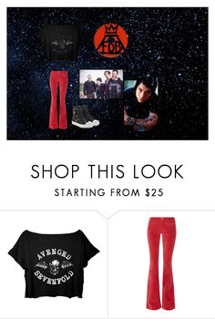 """""""Many guys"""" by princhelle-mack ❤ liked on Polyvore featuring M.i.h Jeans and Moschino"""