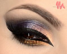 Arabic Princess / makeup / tutorial/ battle / eyes / false lashes / colorfull / brown eyes / look