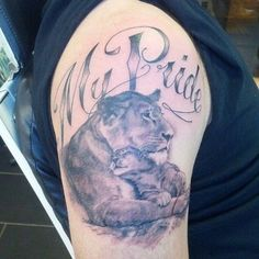 mama lion tattoo cubs ~ mama lion and cubs tattoo + mama lion tattoo cubs + mama lion with cubs tattoo + mama lion and her cubs tattoo Lioness And Cub Tattoo, Lion Cub Tattoo, Lioness Tattoo Design, Tattoo Mama, Cubs Tattoo, Mens Lion Tattoo, Tattoo For Son, Mom Tattoo Designs, Turtle Tattoo Designs