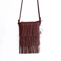 Mini Tassel Women Handbags Messenger Bag Ladies Crossbody Bag Vintage Small Phone Bag Bolsa Feminina