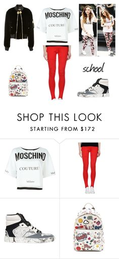 """6.2"" by ronniebenett ❤ liked on Polyvore featuring Moschino, Vivienne Westwood Anglomania, Balenciaga, Anya Hindmarch and Givenchy"