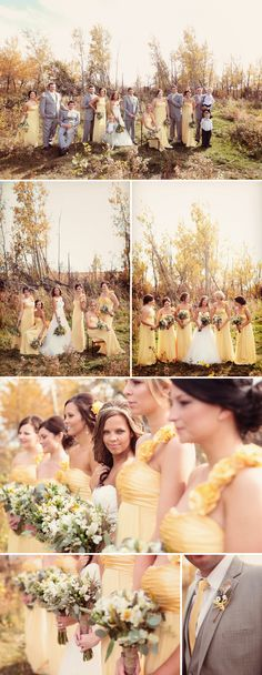Luxury Edmonton wedding photographer, Eternal Reflections Photography, Grey and Yellow Wedding Photography,  Outdoor wedding photography