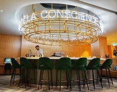 Le coup de ❤️ de la semaine Bar, Coups, Discovery, Chandelier, Ceiling Lights, Lighting, Instagram, Home Decor, Light Fixtures