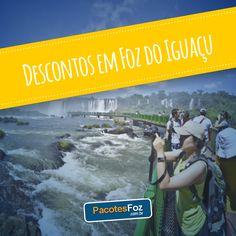 Conhecer uma das Sete Novas Maravilhas da Natureza e a maior geradora de energia elétrica do mundo são alguns do itens que estão no seu roteiro de viagem para Foz do Iguaçu, não é mesmo? Então, para tornar o seu roteiro ainda mais incrível, confira os passeios e produtos que estão com super descontos para você aproveitar. Lembre-se: temos descontos desde a locação de veículos a passeios e hospedagens.  www.pacotesfoz.com.br
