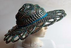 The Art of Can Tabistry: Fancy Wide Sunhat