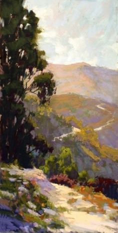 On Top of the World by Kim Lordier Pastel ~ 24 x 12