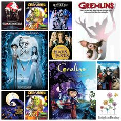 With Halloween creeping closer, it's time to start planning your scary movie line-up.Snuggle up and enjoy these spooky, cooky, creepy Halloween classics! Family Friendly Halloween Movies, Movie Lines, Creepy Halloween, Scary Movies, Friends Family, Activities For Kids, Movie Posters, Art, Horror Films
