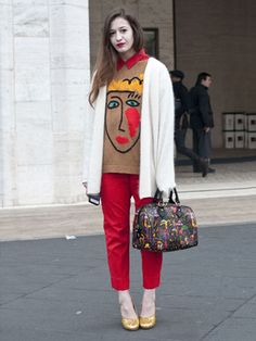 New York Fashion Week Street Style F/W 2012, Day 5