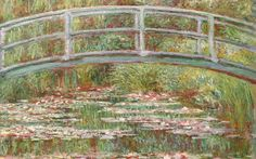 100 veces lo veo... y 100 veces me gusta. Amo la pintura impresionista...especialmente a Monet a quien ven siempre en mis tableros... Nacimos el mismo dia un 14 de noviembre... y los neufares tienen para mi un significado especial.