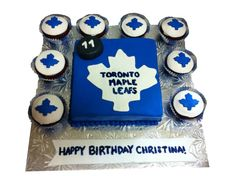 Toronto Maple Leaf Cake