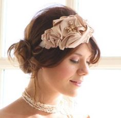 bridal hairstyles with headband