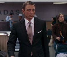 James Bond with Tom Ford suitwear....