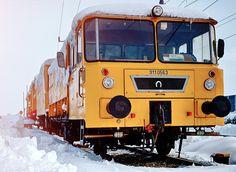 Train in the snow by Robert Klarić on 500px