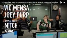 Vic Mensa and Joey Purp Visit Sway In The Morning With A Dope Freestyle