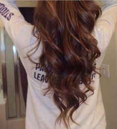 V-cut Hairstyle for Long Straight Brown Ombre Hair by jamie_1