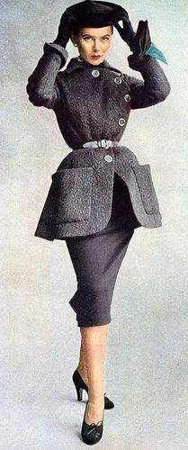 Diseño de Christian Dior (1950)