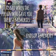 5 Centimeters Per Second it's a good movie but the ending won't be the way you expect it to be