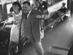 """Ann Warner, with Jackie Gleason in Lounge Car of """"Gleason Express"""" Announcing His Return to Tv Television Premium Photographic Print - 41 x 30 cm 2 Movie, Movie Stars, Jackie Gleason, Away We Go, Frames For Canvas Paintings, Train Rides, Cool Posters, Action Movies, Vintage Pictures"""