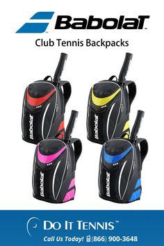 Babolat Club Tennis Backpacks - $35.95 at doittennis.com #tennis