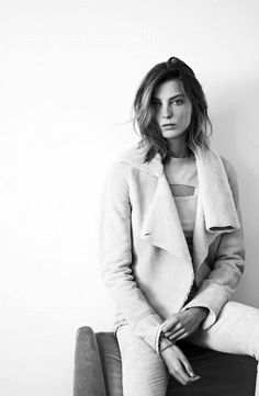 Daria Werbowy for Isabel Marant FW 2013 Ad Campaign