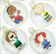 peanuts ornament set