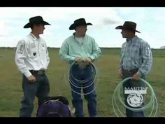 Rope Tips with Kory Koontz, Travis Tryan and Craig Bray.   Breaking in your ropes.