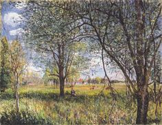 Route to Versailles - Alfred Sisley - WikiArt.org