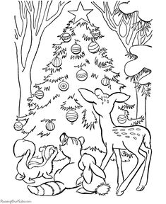 399 Best Coloring Christmas Pages Images Coloring Pages Cat