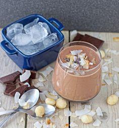 Easy Macadamia-Chocolate Shake