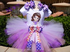 Princess Sofia The First Outfit by SewBearablyCute on Etsy, $58.00