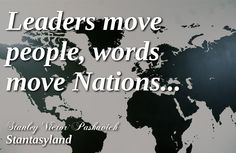 leaders vs words