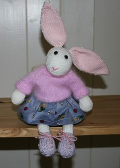 Rabbit by Nodnook on Etsy