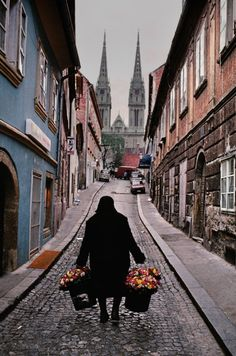 Zagreb, Croatia. One of the things I miss about Eastern Europe—the babushkas.