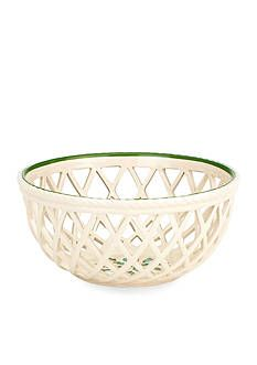 Crafted of fine porcelain, this holiday open-weave bread basket is designed to be enjoyed and used for many years. Bring the holiday cheer to your table with this festive bread basket. Holiday Bread, Serveware, Tableware, Christmas Dishes, Winter Time, Basket Weaving, Bone China, Decorative Bowls, Collection