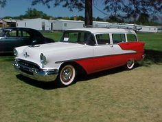 1955 Oldsmobile 88 Station Wagon Cars, American Stock, Oldsmobile 88, Old Wagons, Us Cars, Gmc Trucks, Buick, Motor Car, Concept Cars