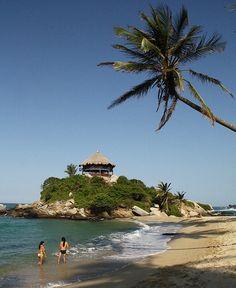 Lovely Beach Parque Tayrona - Colombia