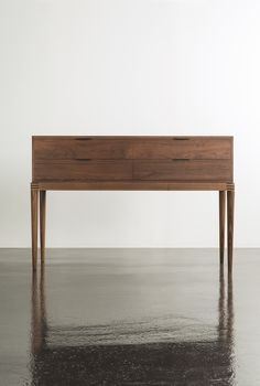 Moser With its distinct reference to Danish Modern design, the Cumberland Sideboard embodies our enduring commitment to simplicity. - Legends of Danish design - Interior Design Magazine, Home Interior Design, Furniture Styles, Modern Furniture, Furniture Ideas, Danish Design, Modern Design, Sideboard Table, Console Tables