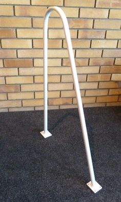 Metal Loft Exit Grab Rail (White) # From £47.95 (Inc VAT & UK Mainland Delivery)