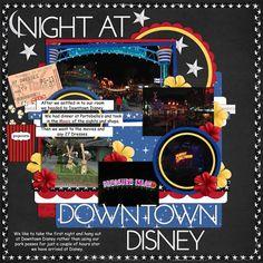 Night at Downtown Disney