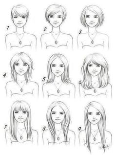 how to cut your hair for rounded face shape