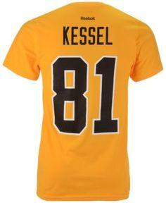 Reebok Men's Phil Kessel Pittsburgh Penguins Player T-Shirt  - Gold XXL
